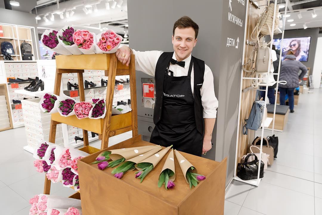 Цветочная лавка на открытие магазина
